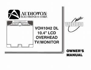 Voh1042 Dl Manuals