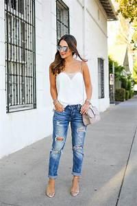 How to Dress Up Boyfriend Jeans