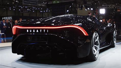 What might surprise you, though, is that its. Take a closer look at Bugatti's $19 million La Voiture Noire — the most expensive car ever sold