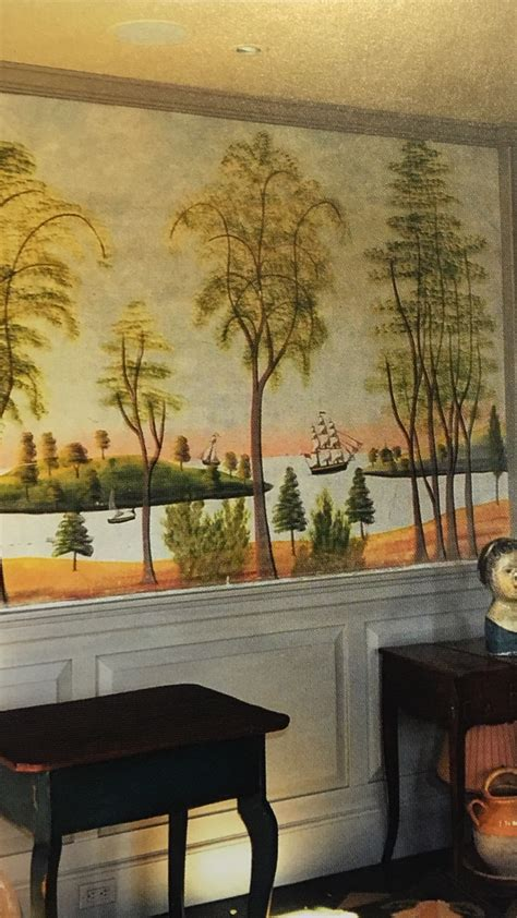 kolene spicher rufus porter style wall panel
