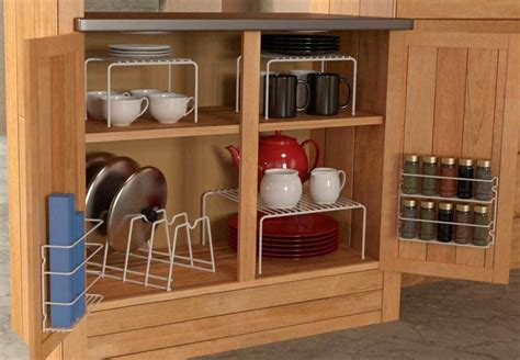 Kitchen Cabinet Organizers Furniture — Sushi Ichimura Decor
