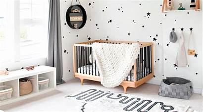 Neutral Gender Nurseries Nursery Theme Walls Stars