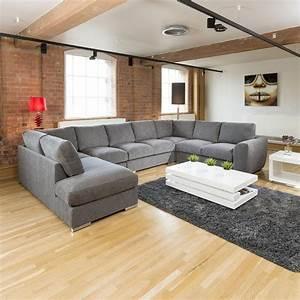 Large u shaped sofa best 25 u shaped sectional ideas on for U shaped sectional sofas uk