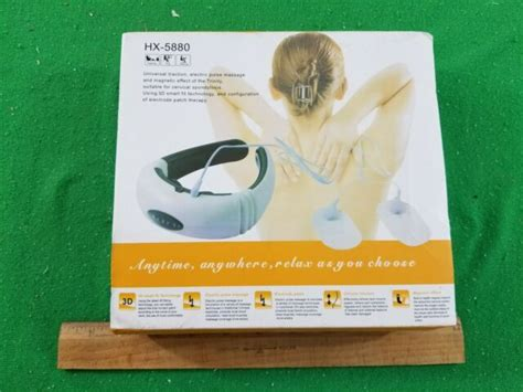 NEW, Universal Electric Neck Massager, Model HX-5880. | eBay