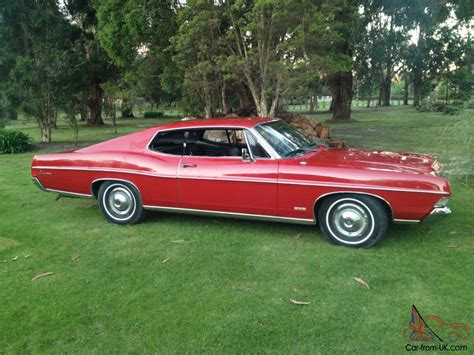 68 Ford Fairlane Fastback by Galaxie Fastback 68 Mustang Xy Xw Fairlane Coupe Xa Xb Xc
