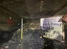 高雄鳥松區神農路下水道清淤照曝光 淤積高度達1.5公尺 - 政治 - 中時