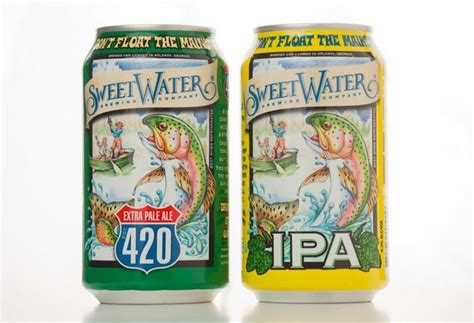 SweetWater IPA and 420 Extra Pale Ale cans roll out this ...