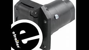 Pollak Black Plastic Rv 7 Pole Trailer Socket Review