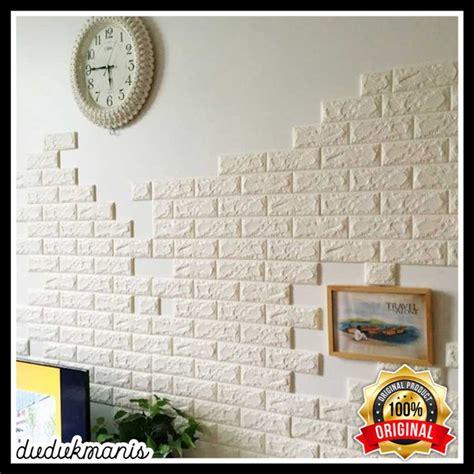 daftar harga wallpaper dinding foam  termurah wphar