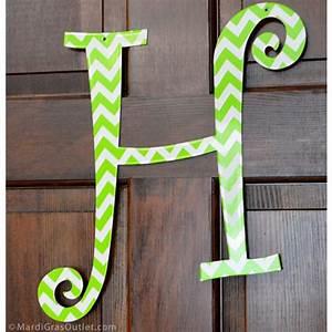 Lime A Metal : 14 lime green chevron metal letter h 1761 ~ Edinachiropracticcenter.com Idées de Décoration