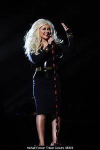 Christina Aguilera's Style: Michael Forever Tribute ...