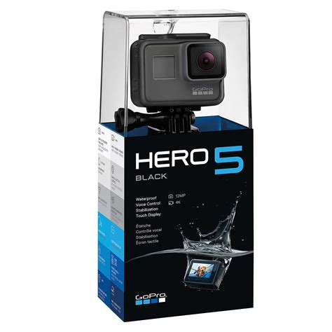 gopro hero black edition camcorder ultra hd mp wi