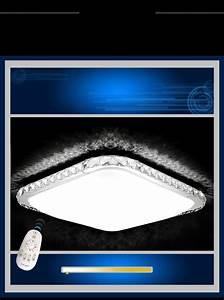 Led Deckenleuchte Kristall : led deckenleuchte 2017 kristall lichtfarbe helligkeit einstellbar fernbedienung ebay ~ Orissabook.com Haus und Dekorationen