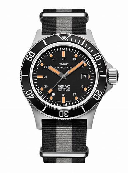 Combat Sub Glycine Watches Swiss