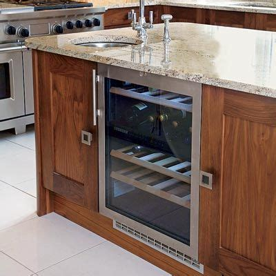 wine cooler in kitchen island all about kitchen islands the smalls and islands 1908