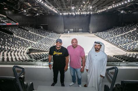 etihad arena     home   ufc  abu dhabi