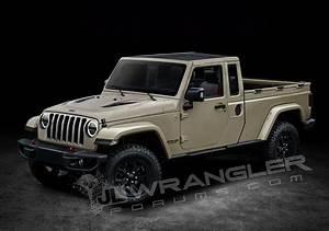 Jeep Wrangler Pick Up : 2019 jeep wrangler pickup looks scrambler rific in latest renderings carscoops ~ Medecine-chirurgie-esthetiques.com Avis de Voitures
