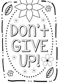 coloring page growth mindset teaching art