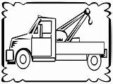 Tow Coloring Truck Pages Trucks Drawing Sheets Frame Realistic Fun Boys Clipartmag Popular sketch template
