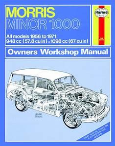 Haynes Manual Morris Minor 1000  1956