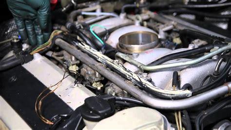 mercedes m119 v8 engine inspection part 4 engine wiring