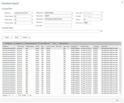 sql trigger audit table changes auditing triggers in sql server databases
