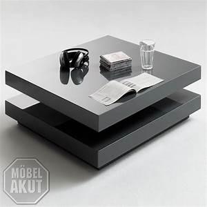 Couchtisch Schwarz Modern : couchtisch vision in grau hochglanz quadratisch ebay ~ Markanthonyermac.com Haus und Dekorationen