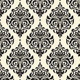 Damask seamless pattern background Vector | Free Download