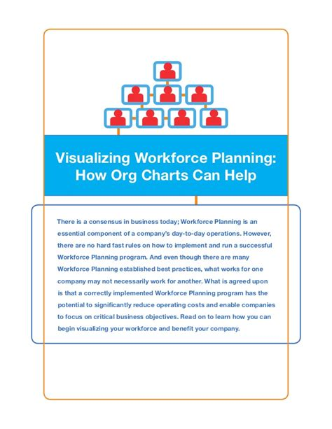 Workforce Planning Visualization  How Org Charts Can Help