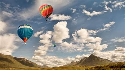 Air Bing Sky Balloon Clouds Colorful Daily