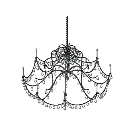 Chandelier Autocad Block by Chandelier 3d Models Cadblocksfree Cad Blocks Free