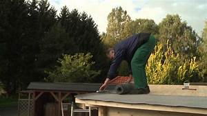 Bitumenbahnen Verlegen Auf Holz : verlegung von dachpappe am gartenhaus wolff finnhaus youtube ~ Eleganceandgraceweddings.com Haus und Dekorationen