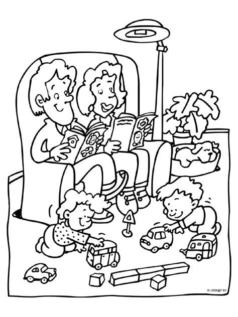 Kleurplaat Puk Ik En Mijn Familie by Uk En Puk Thema Ik En Mijn Familie Kleurplaat Populair