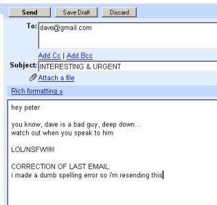 write informative email subject lines