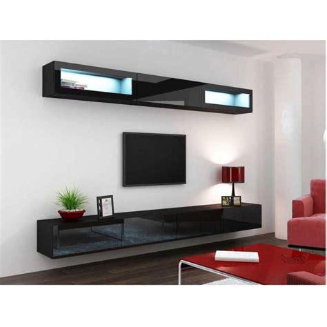 hotte aspirante d angle cuisine meuble tv vigo trend noir séjour meuble tv