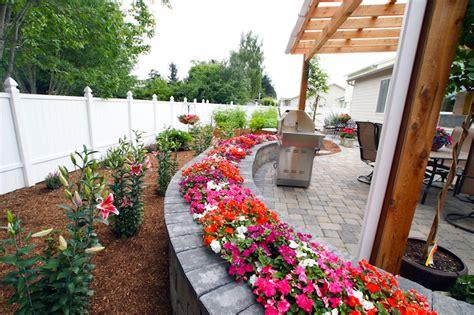 top 25 best low maintenance flower bed ideas low
