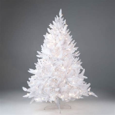 awesome picture of big w white christmas tree perfect