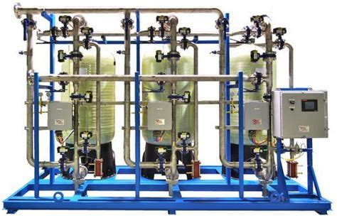 water softener plants industrial water softening