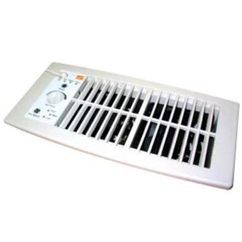suncourt flush fit register booster fan in white hc500 w
