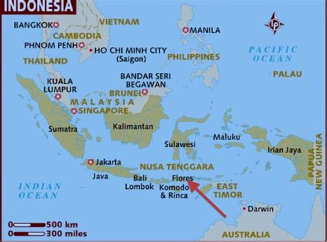 maumere indonesia map