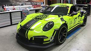 2017 Black box Porsche 911 GT3 RS Wallpaper HD Car