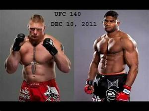 BROCK LESNAR vs. ALISTAIR OVEREEM - UFC 141 - YouTube