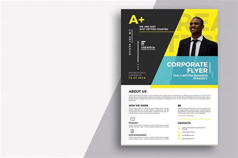 business flyer templates word psd design shack