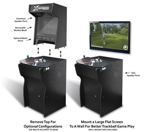 Xtension Arcade Cabinet Kit by Xtension Arcade Cabinet Fits X Arcade Tankstick Ebay