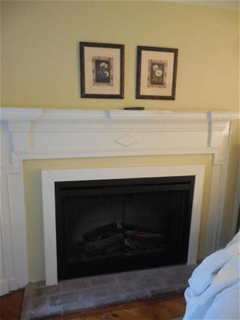 ambler fireplace fireplace for decoration only with paper logs
