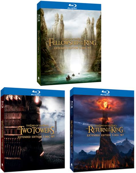 The Lord Of The Rings Extended Edition Blurays Contest