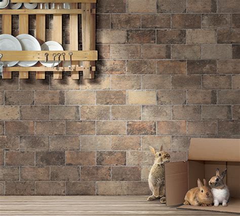 chicago porcelain brick tile  mediterranea usa
