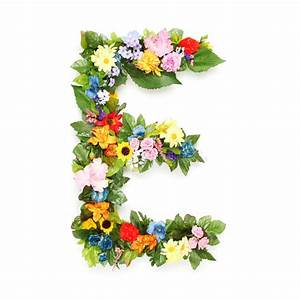 letters of leaves and flowers stock image image of fresh With fresh flower letters
