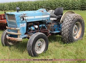 1967 Ford 3000 Tractor