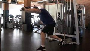 Overhead Cable Tricep Extension Exercise